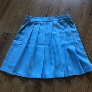 Pleated Skirt Bundle! Pink and Blue